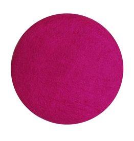 Filz Sitzkissen rund pink