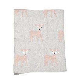 Strickdecke Shy Bambi