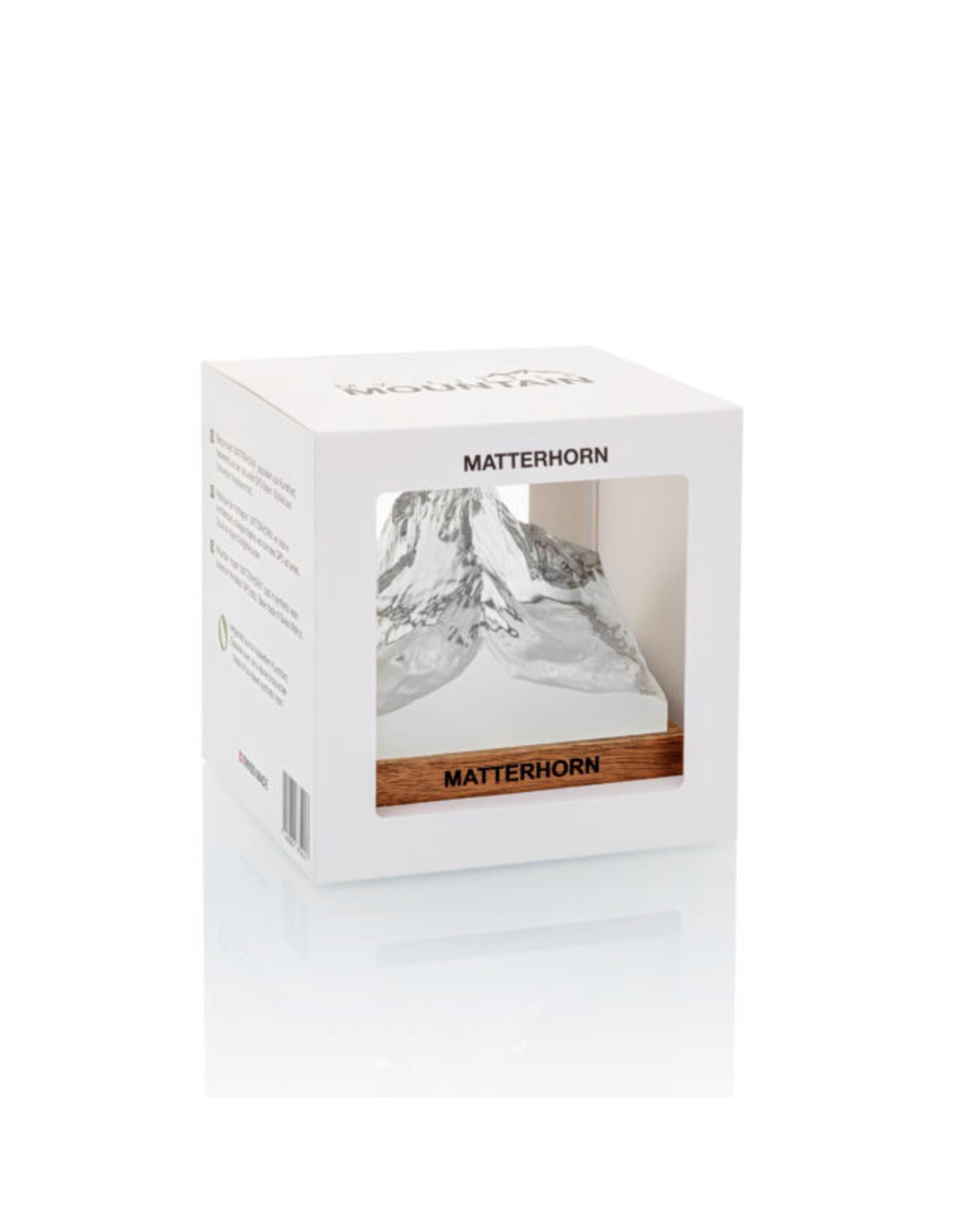 My Little Mountain Bergmodell Matterhorn Nussbaum/Kunstharz
