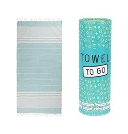 Towel to go Malibu türkis
