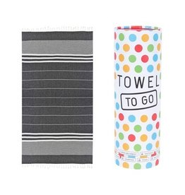 Towel to go Malibu black