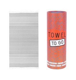 Towel to go Malibu grey