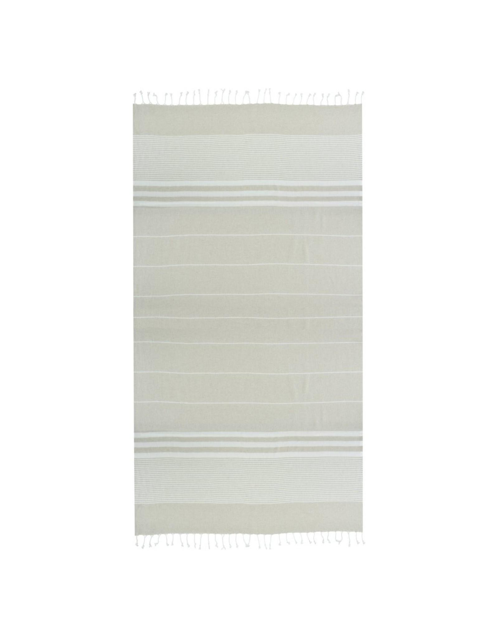 Towel to go Malibu beige 100%BW oeko tex