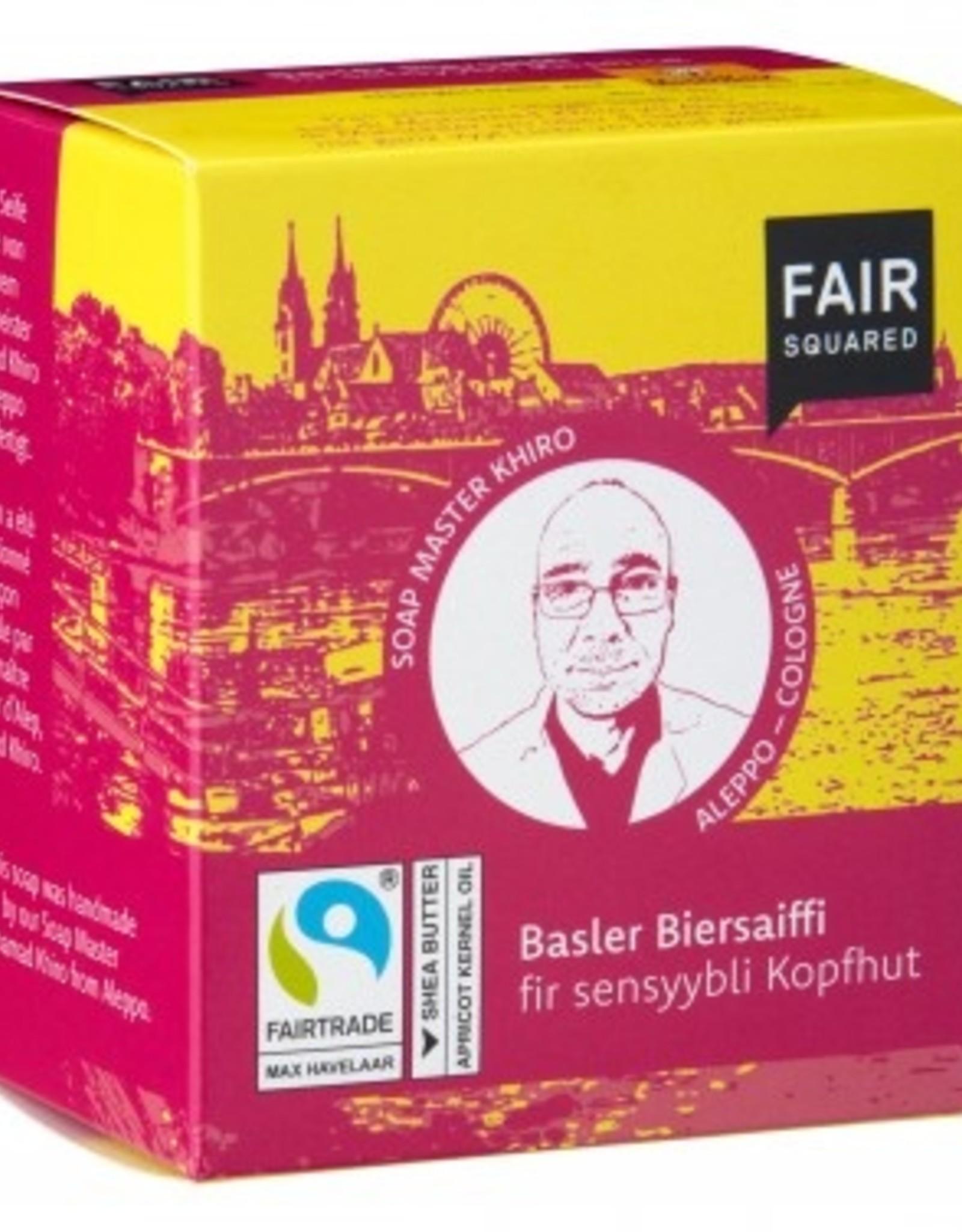 Basler Bierseife fir sensyybli Kopfhut vegan Basel/Köln