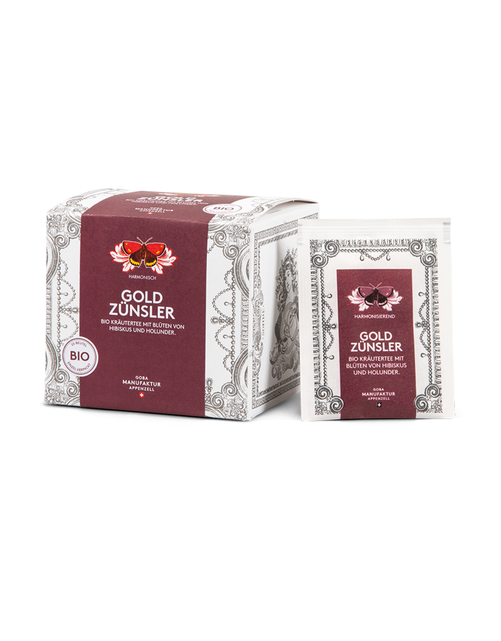 Goba Goldzünsler Tee BIO
