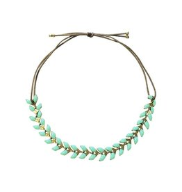 Armband Emaille - Mint