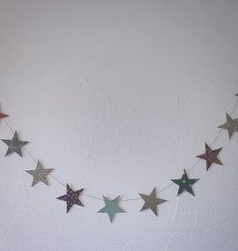 Girlande Sterne gross