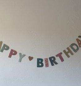 Girlande Happy Birthday gross