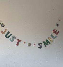 Girlande Just Smile gross