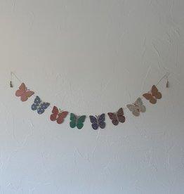 Girlande Happy Schmetterling gross