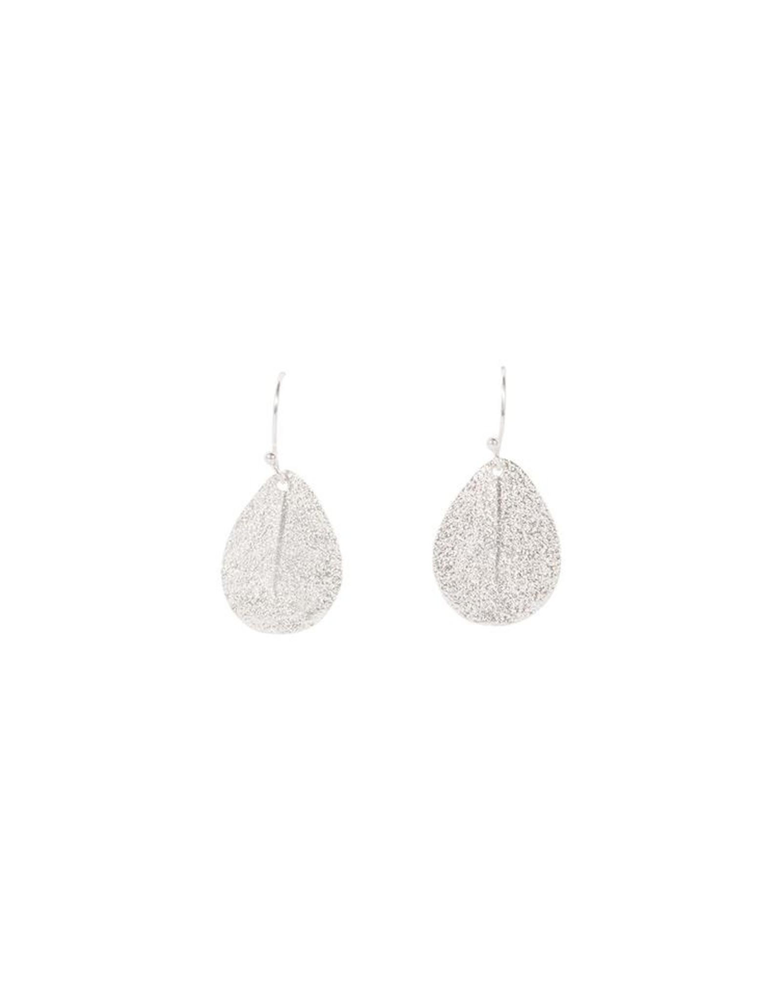 Ohrringe Leaves 925 Silber
