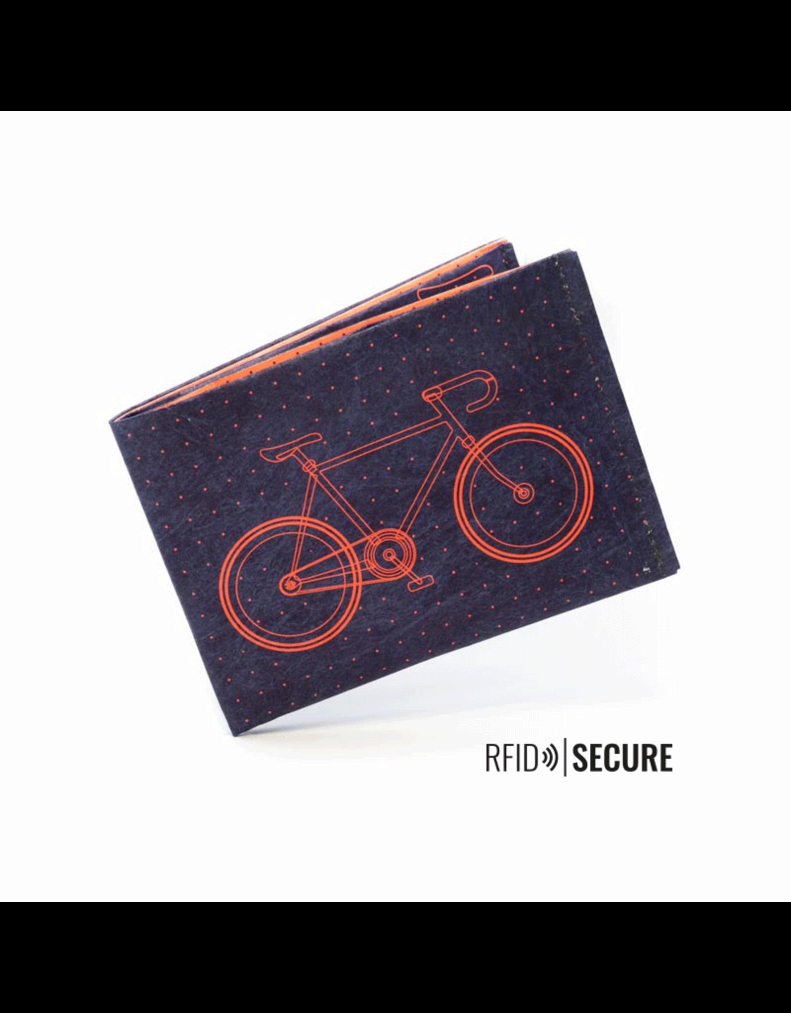 Paprcuts Portemonaie RFID Bike Tyvek
