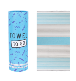 Towel to Go Bali, Turquoise/Blue