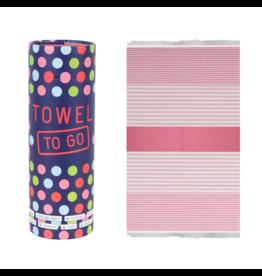Towel to Go Bali, Fuchsia/Pink
