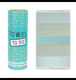 Towel to go Bali blau/grün