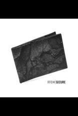 Paprcuts Portemonaie RFID Black Lava Tyvek