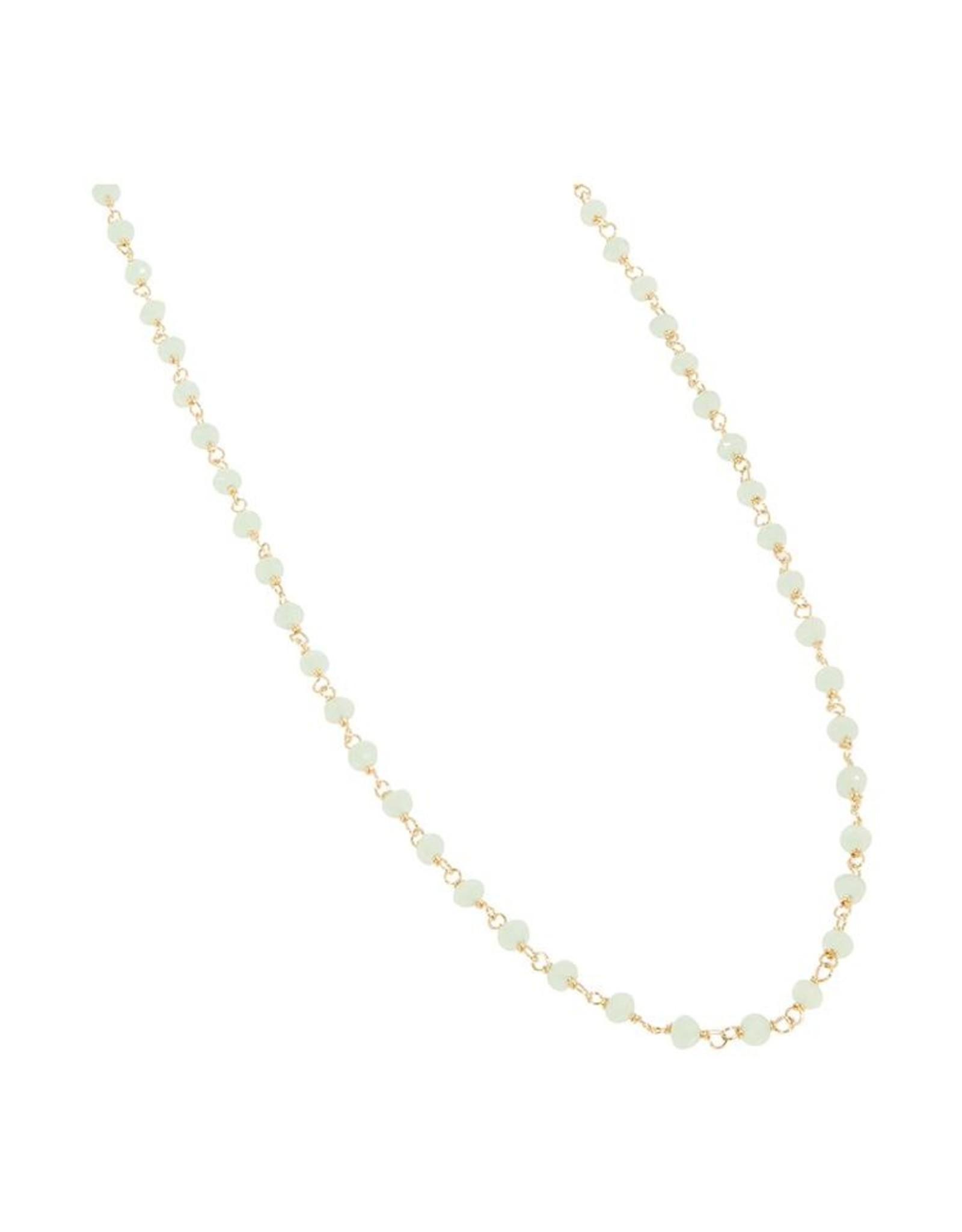 Halskette Little Stones 925 Silber vergoldet