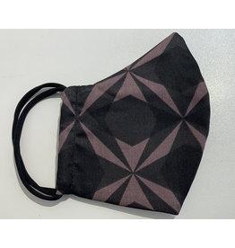 Aigle 3-lagig schwarz/viollet