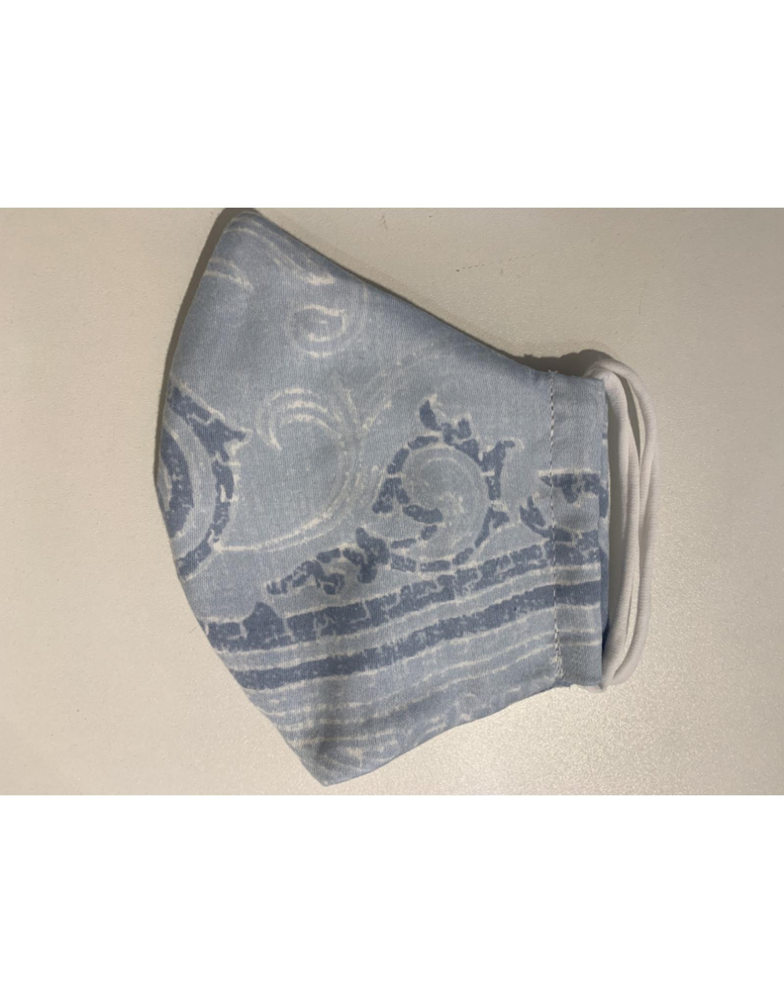 Seewen  3Lagig  hellblau/weiss 100% Baumwolle
