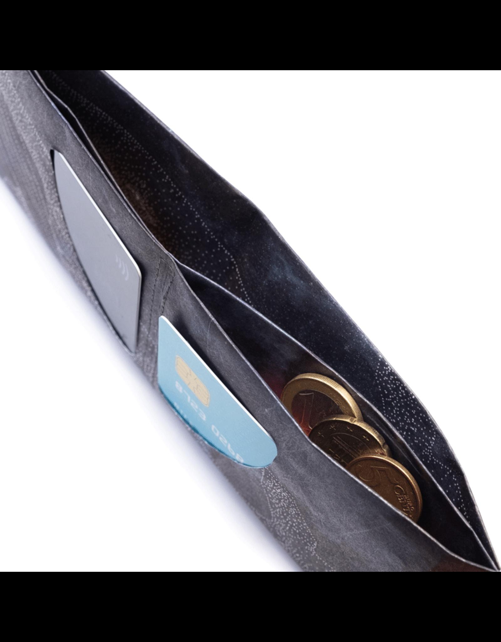 Paprcuts Portemonaie RFID Galactic Whale Tyvek