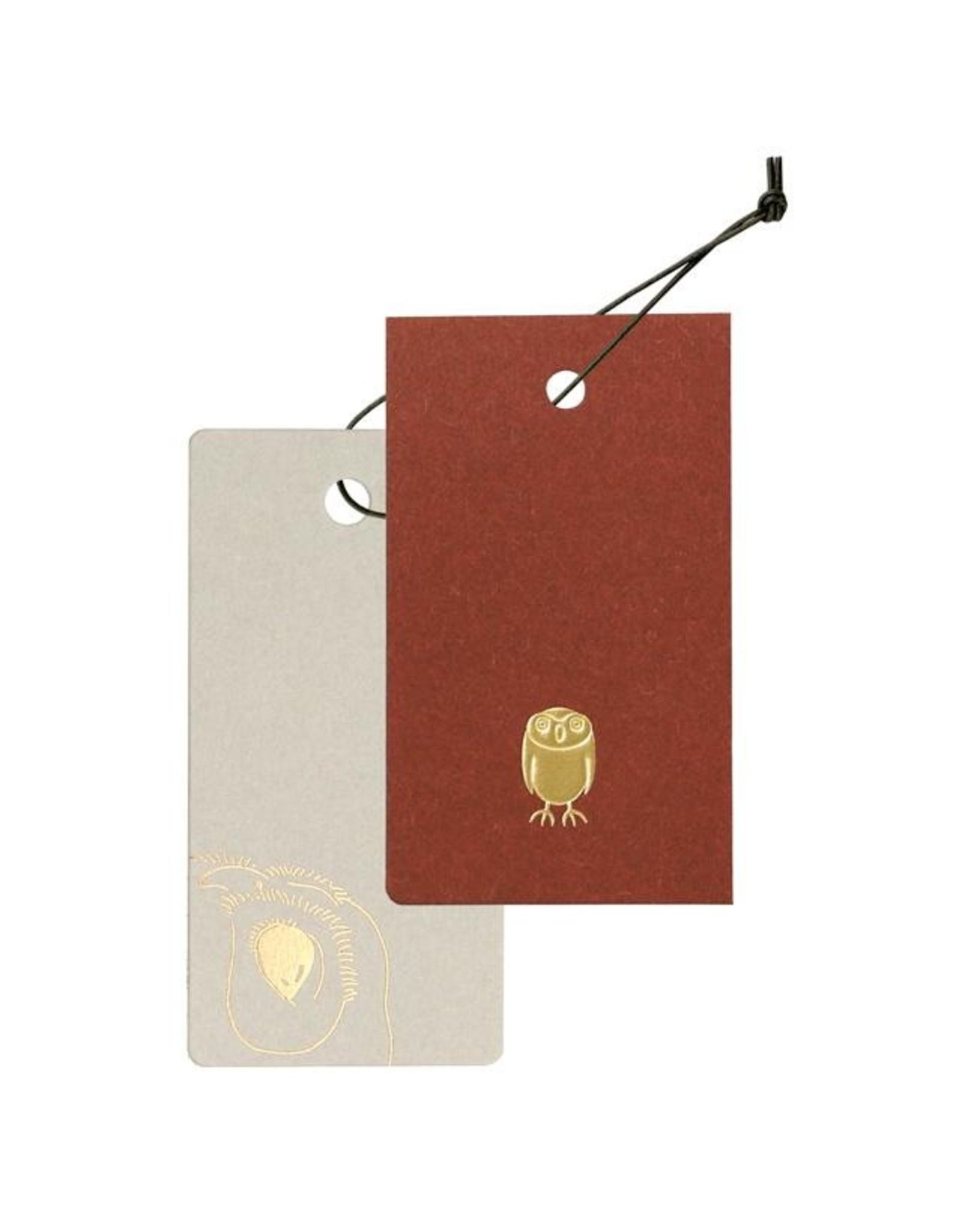 TätTat Cashico Tag Mini Card&Cover owl