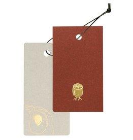 Cashico Tag Mini Card&Cover owl