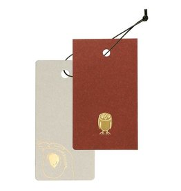 Cashico Tag Mini Card&Cover owl