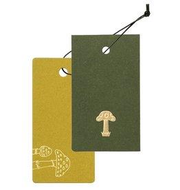 Cashico Tag Mini Card&Cover mushroom