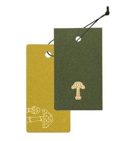 TätTat Cashico Tag Mini Card&Cover mushroom