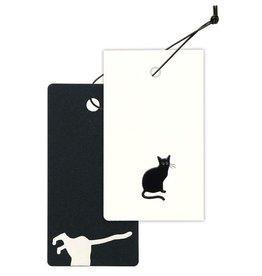 Cashico Tag Mini Card&Cover cat