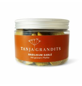 Tanja Grandits Sable salzig Basilikum  mit grünem Pfeffer