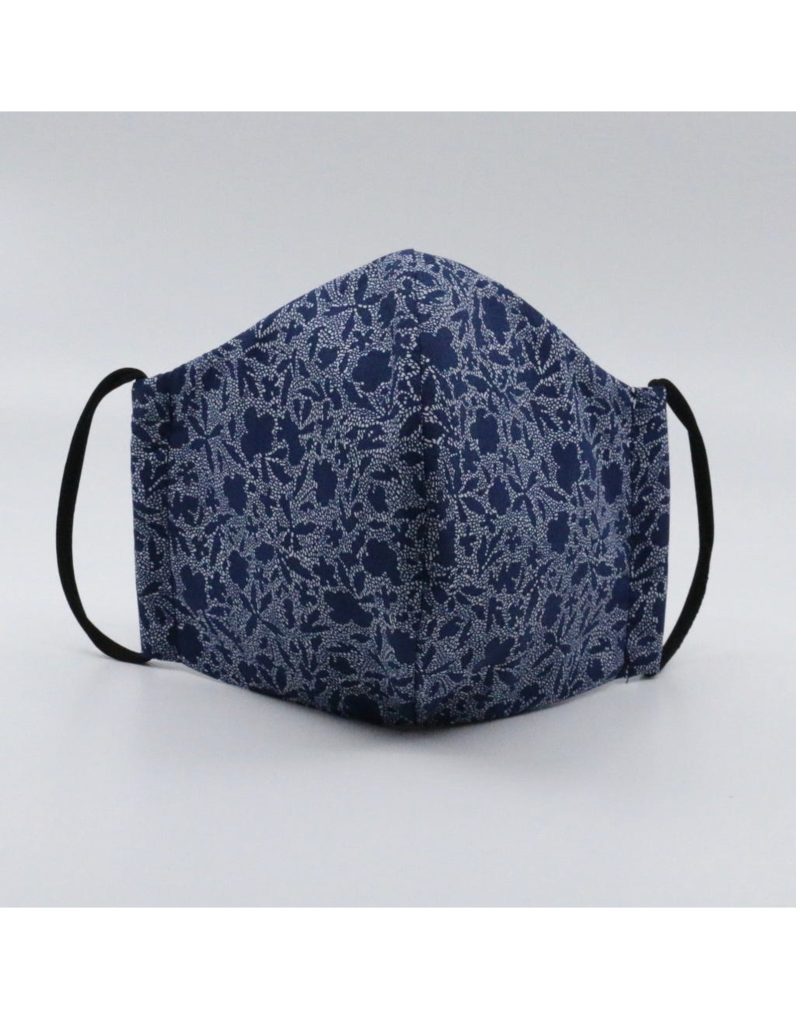 Gelmersee 3Lagig d-blau/weiss 100% Baumwolle