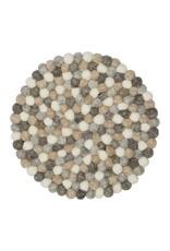 Filz Sitzkissen Ball 100% Wolle gefilzt