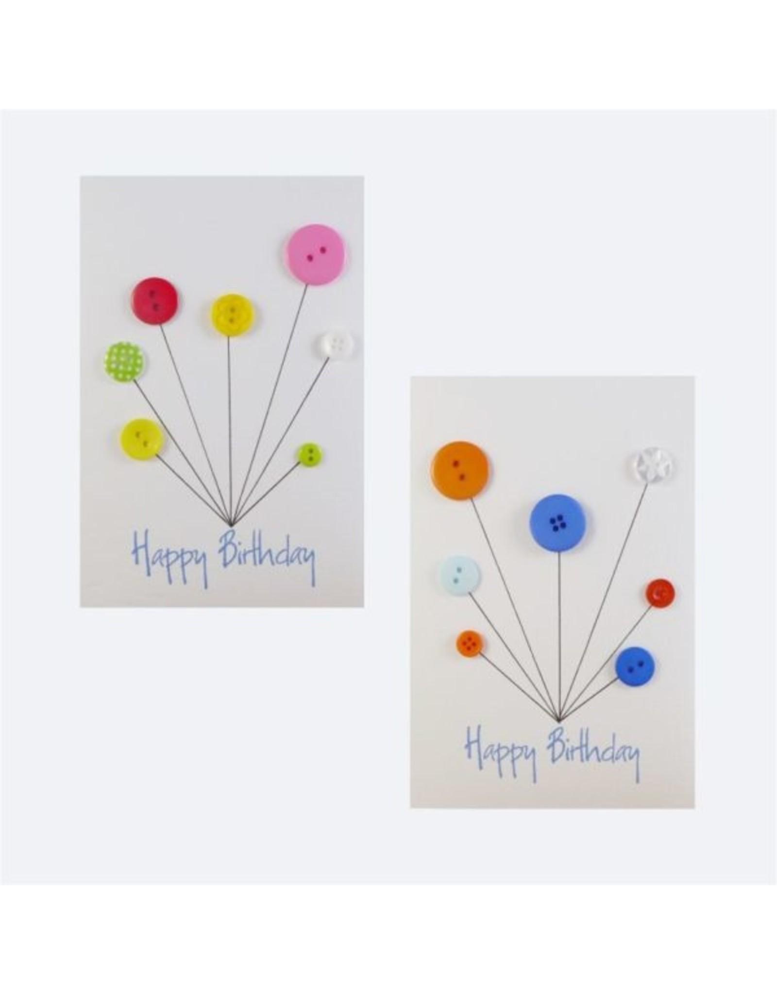 InclusioPlus Geburtstagsballons mit Knöpfen