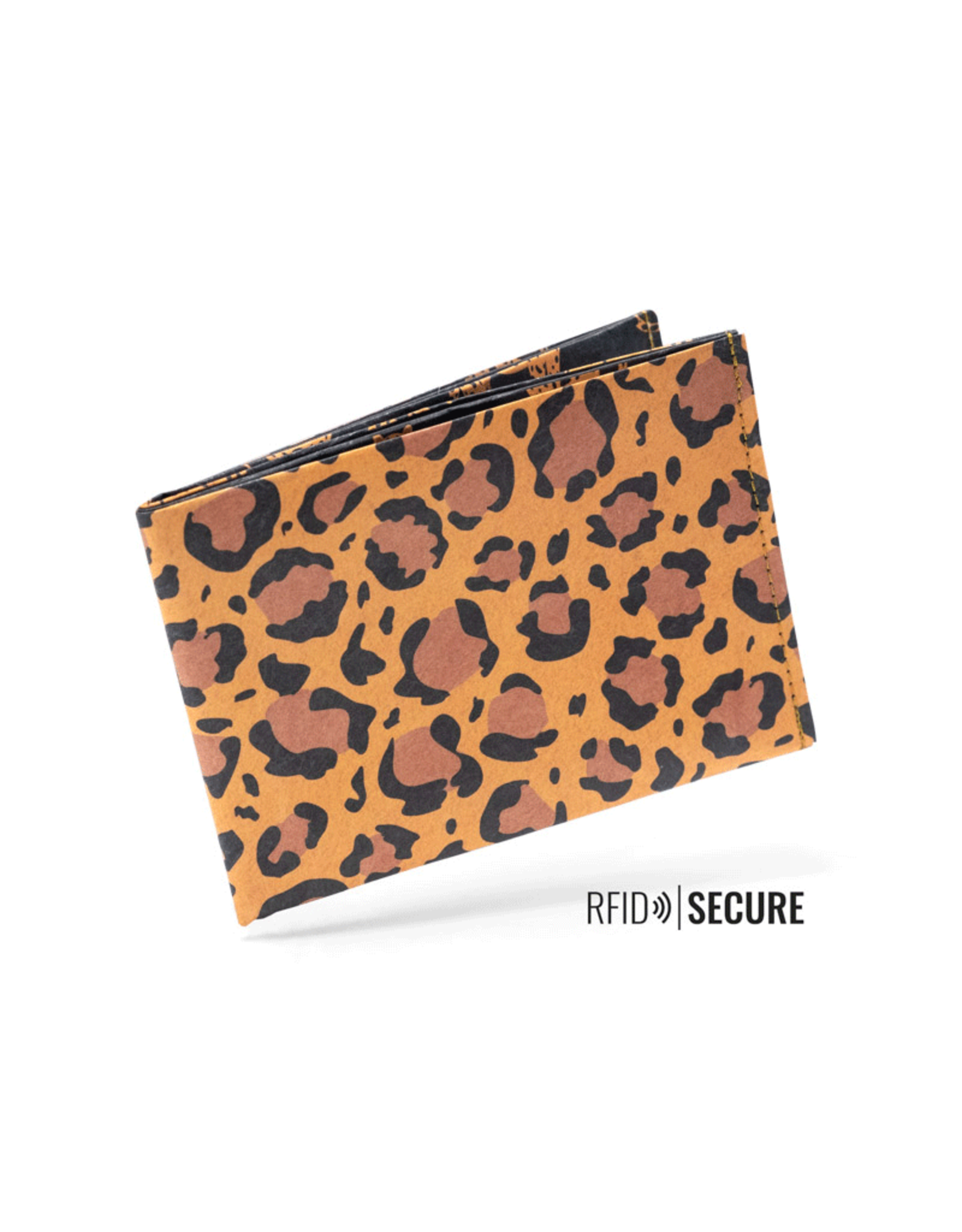 Paprcuts Portemonaie RFID Leopard Tyvec