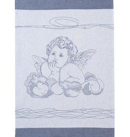 Rigotex Küchentuch Engel auf Wolken marine