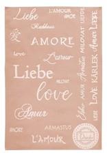 Rigotex Küchentuch Liebe rose 100% Baumwolle