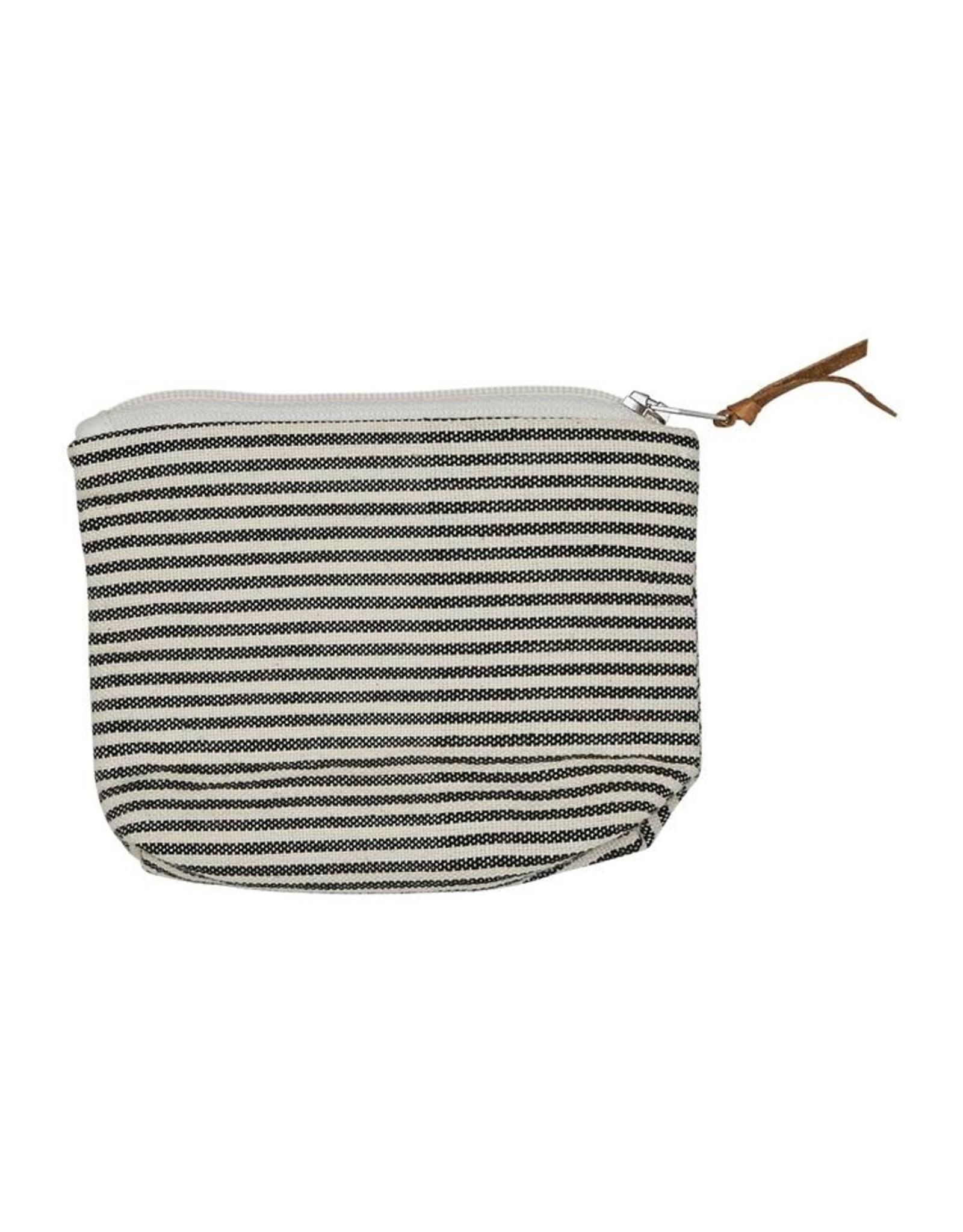 Beutel klein Pinstripes 100% Baumwolle handgewoben