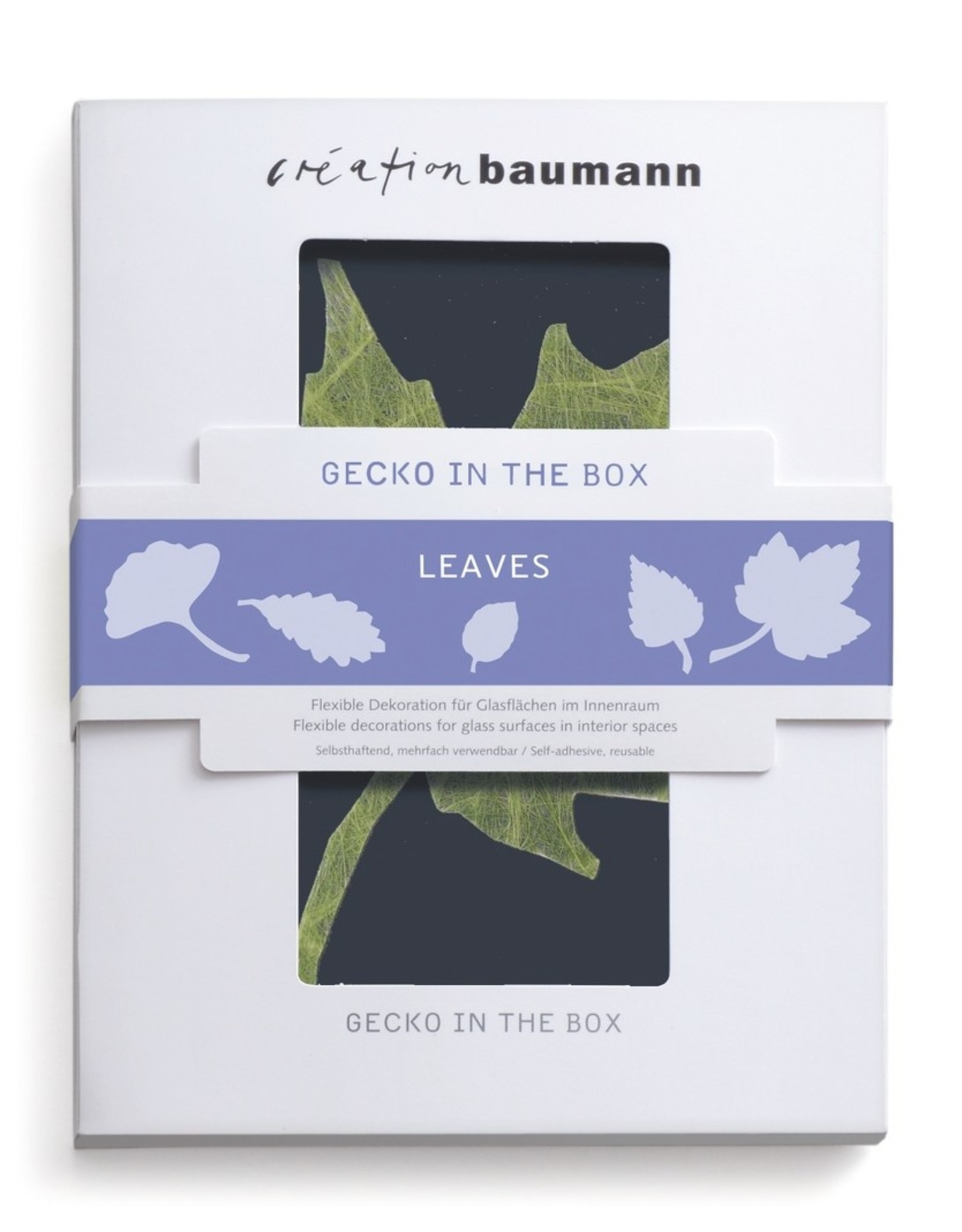 Gecko in the Box  Leaves