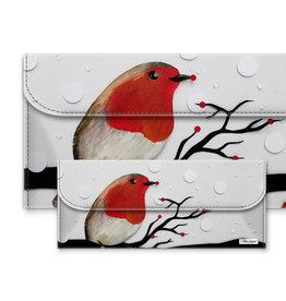 I like Paper ROTKEHLCHEN Tyvek® Case / Etui big