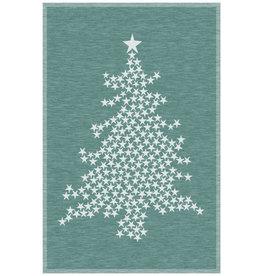 Rigotex Küchentuch Weihnachtsbaum dunkelgrün