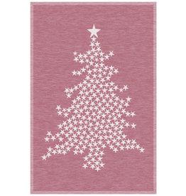 Rigotex Küchentuch Weihnachtsbaum bordeaux