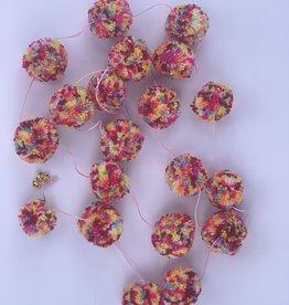 Girlande Pom Pom mix