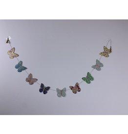 Girlande Happy Schmetterling klein
