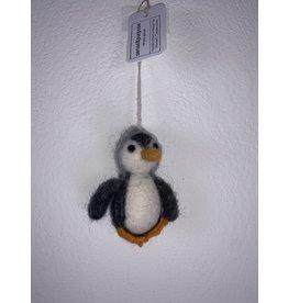 sense&purpose Filz Pinguin grau