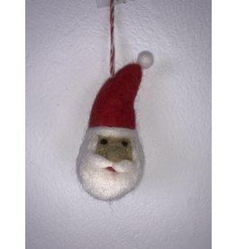 sense&purpose Filz Weihnachtskugel Weihnachtsmann