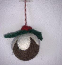 Filz Weihnachtskugel