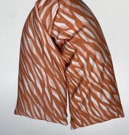 Nackenrolle Wuzi lachs Muster waschbar
