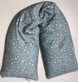 Nackenrolle Wuzi mint Muster waschbar
