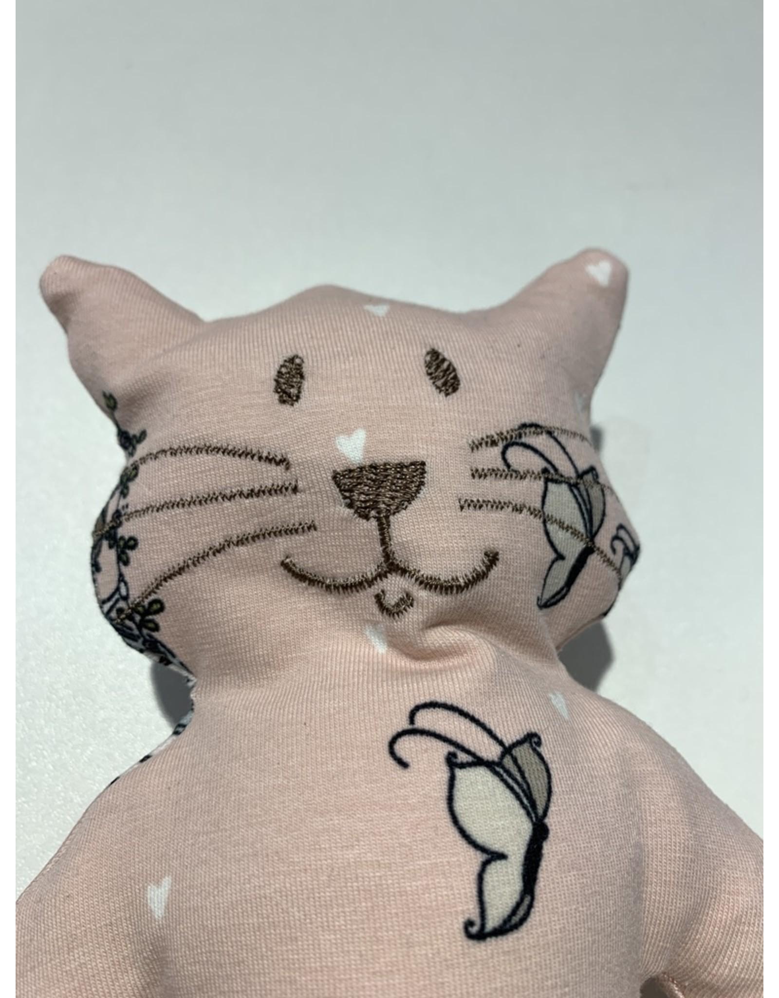 Katze Felis schaukelndes Mädchen waschbar 95% Bio Baumwolle 5% Elasthan